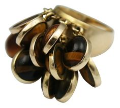 Cool Tiger's Eye Ring.  YOU, need a piece of Tigers eye jewelry.   Yep, you do!