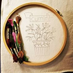 Attempting a new craft today! I can cross stitch but I've yet to try my hand at embroidery. Wish me luck!