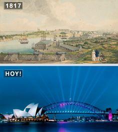 Como se veían los 12 ciudades antes y como ve ahora