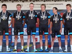 Richie Porte with Team Sky - Bronze Medal TTT 2013 UCI Road World Championships