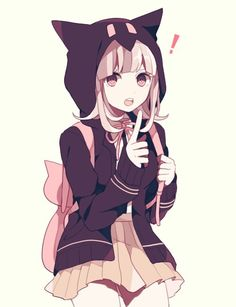 anime, kawaii, and neko image nanami Danganronpa Anime Neko, Kawaii Anime Girl, Anime Girls, Manga Anime, Loli Kawaii, Anime Girl Cute, Anime Art Girl, Anime Love, Anime Style