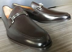 New BALLY SWITZERLAND LEBEL BIT LOAFERS COCOA Shoes size 11 $525 #Bally #LoafersSlipOns