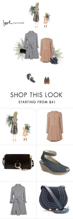"""""""love you so much"""" by sharmarie ❤ liked on Polyvore featuring A.L.C., Chloé, Fly LONDON and Maje"""