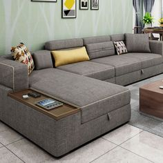 L Shape Sofa Set With Storage Baci Living Room – Sofa Design 2020 Sofa Bed Design, Furniture Design Living Room, Bed Design, Sofa Set Designs, Modern Sofa Designs, Living Room Sofa, Modern Furniture Living Room, Living Room Sofa Design, Living Room Sofa Set