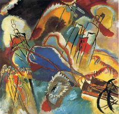 Kandinsky. Improvisations 30 (Cannons). 1913. Chicago.