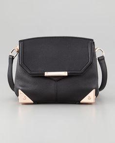 Alexander Wang - Marion Crossbody Bag, Black/Rose Golden