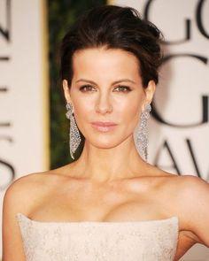 Kate Beckinsale Golden Globes Red Carpet Makeup
