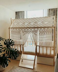 Kinderkamer inspiratie bedhuisje kids and children play bed small house like cottage frame design. Baby Bedroom, Girls Bedroom, Bedrooms, Childrens Bedroom, Bedroom Decor For Kids, Room Girls, Big Girl Rooms, Nursery Inspiration, Kid Spaces