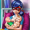 Miraculous Ladybug Twins Birth