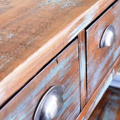 Easily transform a piece of furniture with this simple painting technique.