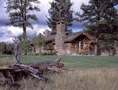 images of rustic cabins in the mountains | Equestrian, Rustic & Ranches