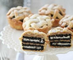 Baby Oreo and peanut butter pies