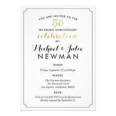 50th Wedding Anniversary Speech Ideas