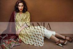 Sania Maskatiya Casual Wear Collection 2013   Latest Fashion Trends