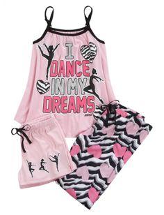 Zebra Dance Pajama Set