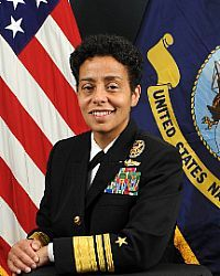 Vice Admiral Michelle Howard - first black woman to become a three star officer and first woman to become a four star officer.
