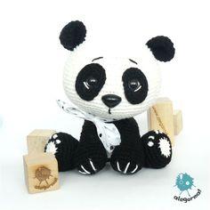 www.alegorma.com/sklep #alegorma #amigurumi #szydełkowce #crochet #panda