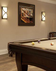 Billiards Room. I like the colors.