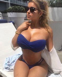 Sexy Bikini, Kim Kardashian, Anastasia, Sexy Women, Mädchen In Bikinis, Russian Models, Swimsuits, Swimwear, Sensual