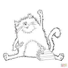 Splat The Cat Coloring Pages #10