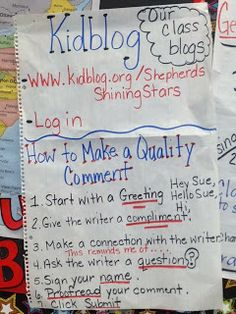 Anchor Charts for Reading | Shepherd's Shining Stars: Check out What's Happening in Room 3!
