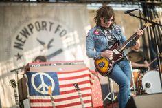 Ryan Adams performs at the 2014 Newport Folk Festival.