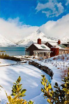 Matakauri Lodge in Queenstown, New Zealand #queenstown #newzealand #gigatownqtn