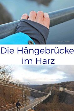 Test of courage in the Harz Mountains: The shaky suspension bridge in the Rappbodetal - A real test of courage: the suspension bridge in the Harz Mountains. Camping List, Family Camping, Family Travel, Camping Hacks, Madrid Restaurants, Acevedo, Indigo, Travel Tags, Camping Photography