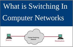 In this Article your will learn what is Switching in computer networks. Switching is a process in which data will be switch from source to destina
