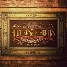 """I really wish I could take credit for this, but the talented hands of @Jason Stocks-Young Carne are responsible.  He and I will be sharing the stage next week at Creative South in Columbus, GA.  Our panel talk is appropriately titled """"Hunters & Gatherers."""""""