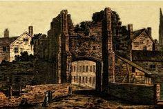 Historic: Beverley Gate in Hull before it was taken down in 1776.