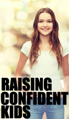 Four parenting tips for raising confident kids. Being a mom can be hard, making sure your kids grow up with a sense of self esteem and confidence can be even harder. These four tips - plus an inspiring video to watch with your children - will help you get there.