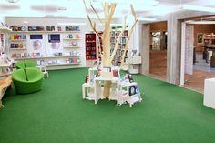 Aalborg library, Danish Culture Agency  http://modelprogrammer.kulturstyrelsen.dk/en/cases-for-inspiration/case-aalborg-main-library/#.Us6_i1_naM8