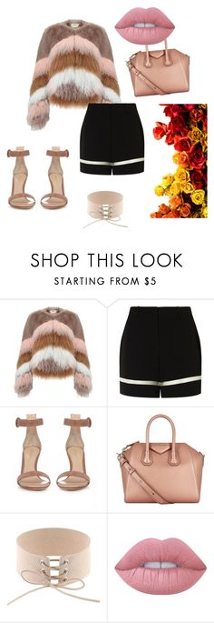 """""""Untitled #75"""" by anjola112 on Polyvore featuring Urbancode, Alexander Wang, Gianvito Rossi, Givenchy and Lime Crime"""