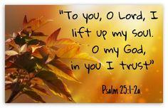 Psalm 25:1-2a