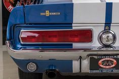 1967 Ford Mustang Fastback Shelby GT500 Recreation