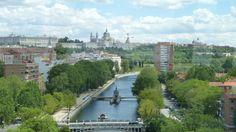 Vista desde el teleférico de Madrid
