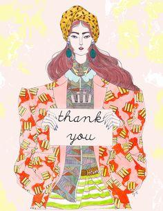 #Katharine - Jeremy Combot Illustration