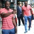 Idris Elba Out and About New York