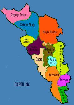 """CAROLINA, PUERTO RICO.  Carolina is also known as """"El Pueblo de los Tumba…"""