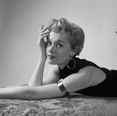 Tippi Hendren, May 1955