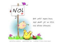 """Wer """"Nein"""" sagen kann sagt damit """"JA"""" zu sich und seinen Grenzen! ;-) - Antjeca Virtuelle Mappe"""
