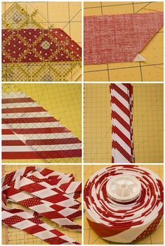 Candy Cane Binding - Need to try this!!