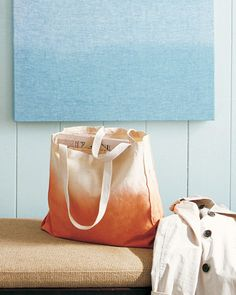 Make Your Own Ombre Tote Bag!