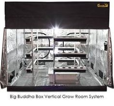 Hydroponic System Grow Tent Big Buddha Box Vertical Hydroponics Hydroponic Grow Systems Hydroponic Growing & 10 Best Top 10 Best 4×4 Grow Tent kits in 2017 images | Grow tent ...