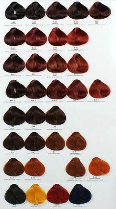 Catálogo Alfaparf #Hedheads #Ruivas                                                                                                                                                                                 Mais Red Ombre Hair, Red Hair Color, Brown Hair Colors, Hair Is Full Of Secrets, Home Hair Salons, Red Hair Inspiration, Red Hair Don't Care, Copper Hair, Auburn Hair