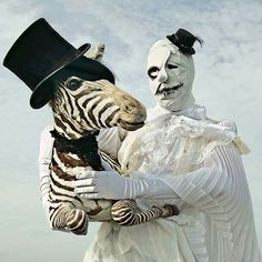 Clown & Zebra