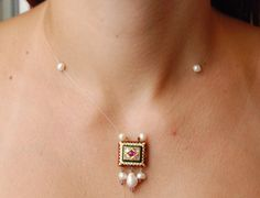 Old kundan necklace