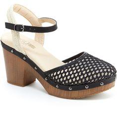 9a90d1a39 J Sport By Jambu Celine Womens Heeled Sandals - Black - Size 6 Medium.