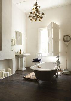 bañera exenta, lavabo antiguo años 20